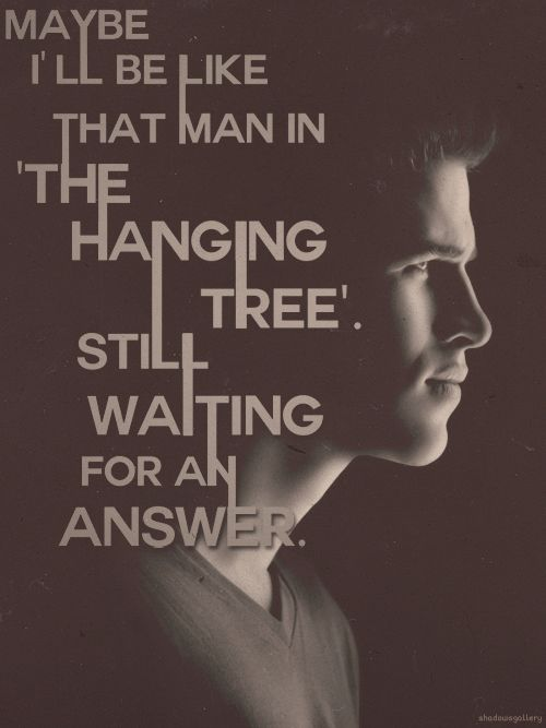 """Are you, are you comeing to the tree.Where they strung up the man they said murdered three.Strange  did happen here, no stranger would it be. If we meet up at at midnight at the hanging tree..."