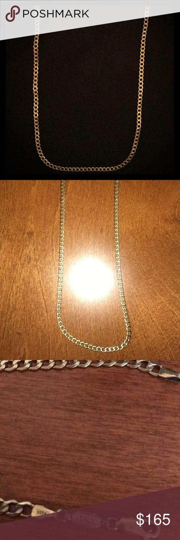 14k Italian Gold Chain 18 inches pagoda Accessories Jewelry