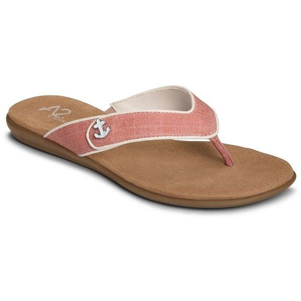 A2 by Aerosoles Chlear Sailing Women's Sandals (77 CAD) ❤ liked on Polyvore featuring shoes, sandals, pink combo, embellished shoes, anchor shoes, open toe sandals, pink strappy sandals and slip on sandals