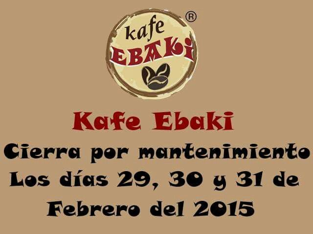 Aviso Importante !!! #AllYouNeedIsLove #Gym #Gin #Party #Drink #Godinez #Finde#Saturday #Desayunos #Breakfast #Yommy #ChaiLatte #Capuccino#Hotcakes #Molletes #Chilaquiles #Enchiladas #Omelette #Huevos#Mexicana #Malteadas #Ensaladas #Coffee #CDMX #Gourmet#Chapatas #Cuernitos #Crepas #Tizanas #SodaItaliana#SuspendedCoffees #CaféPendiente  Twiitter @KafeEbaki  Instagram kafe_ebaki www.facebook.com/KafeEbaki…