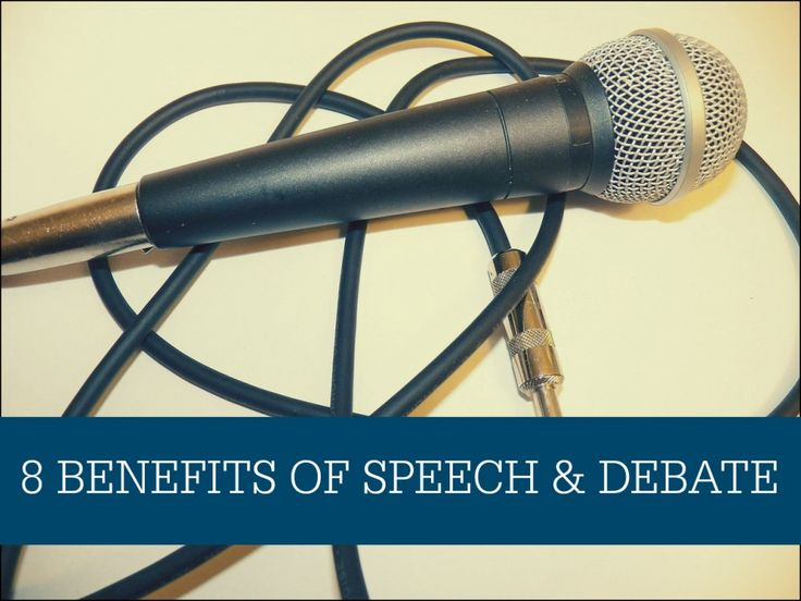 Why Speech and Debate is Important for All Students