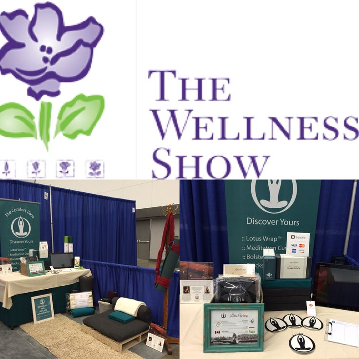 Displaying our wares and offerings at The 24th Annual Wellness Show in Vancouver February 12 - 14, 2016.  E2E :: find comfort, support & connection, no matter where you sit.