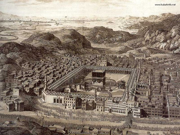 The Old Picture of Mecca..wish I could visit it back then without the extravagant and unneccessary tower clock hovering over the beauty of Mecca