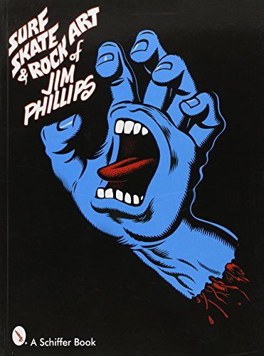 Surf, Skate & Rock Art of Jim Phillips: 40 Years of Surf, Skate and Rock Art by Jim Phillips http://www.amazon.com/dp/0764319272/ref=cm_sw_r_pi_dp_1EHywb0A83WSY