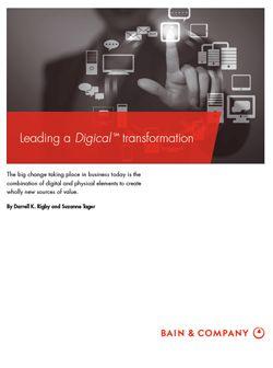 Durch das Internet der Dinge wachsen digitale und physische Geschäftsmodelle zunehmend zusammen und zwingen Unternehmen in nahezu allen Branchen in den nächsten zehn Jahren zu weitreichenden Veränderungen. Eine aktuelle Studie zeigt diese Entwicklung auf und gibt Handlungsempfehlungen.