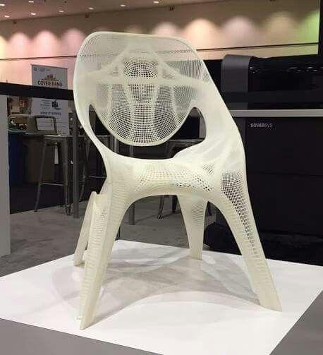 Zaha hadid 3d printed chair fab pinterest zaha hadid for Furniture 3d printing
