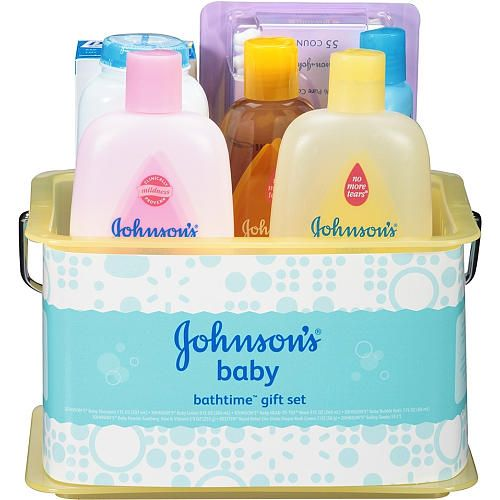"Johnson & Johnson Bathtime Essentials Gift Set - Johnson & Johnson - Babies ""R"" Us"