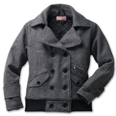 Filson's Women's Wool Bomber Jacket