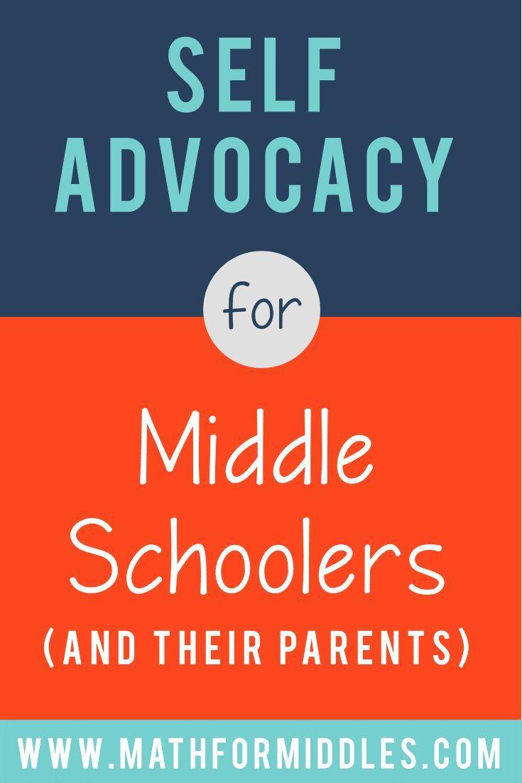 Self-advocacy skills for teens and tweens. #middleschool