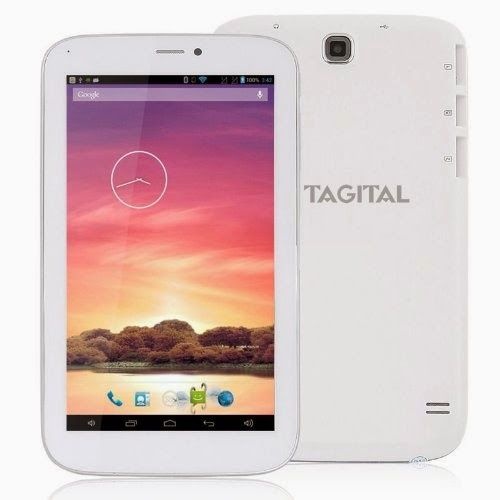 "Tagital® 7"" Dual Core Android 4.2 Bluetooth Phone Tablet Phablet GSM Dual Sim Dual Camera Unlocked Play Store Pre-installed On Sale - Best R..."