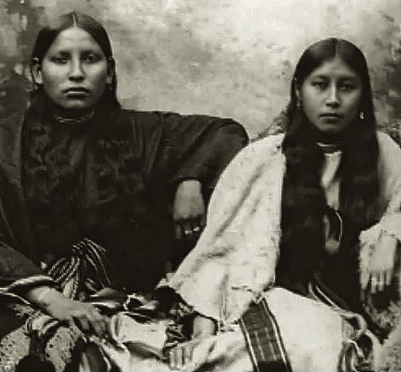 Strong Comanche women, no date