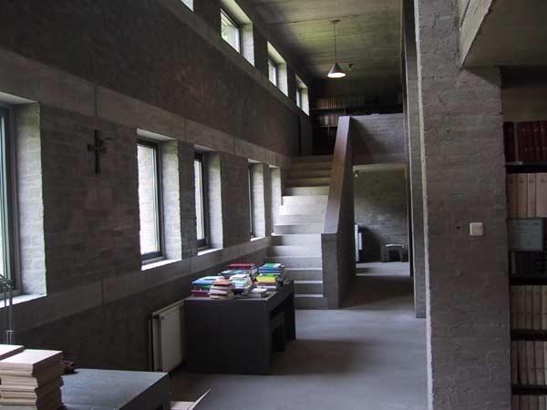 Abbey Sint Benedictusberg in Vaals the Netherlands DOM HANS VAN DER LAAN