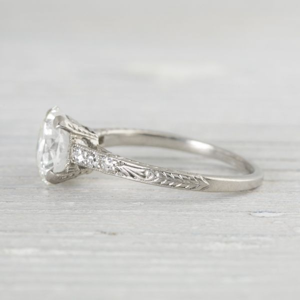 Much Like My Engagement Ring Carat Vintage Art Deco Engagement