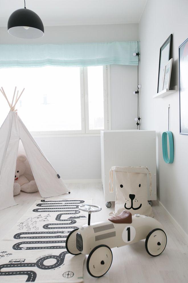 Pojan huoneen sisustus | Modernisti kodikas | Idealista