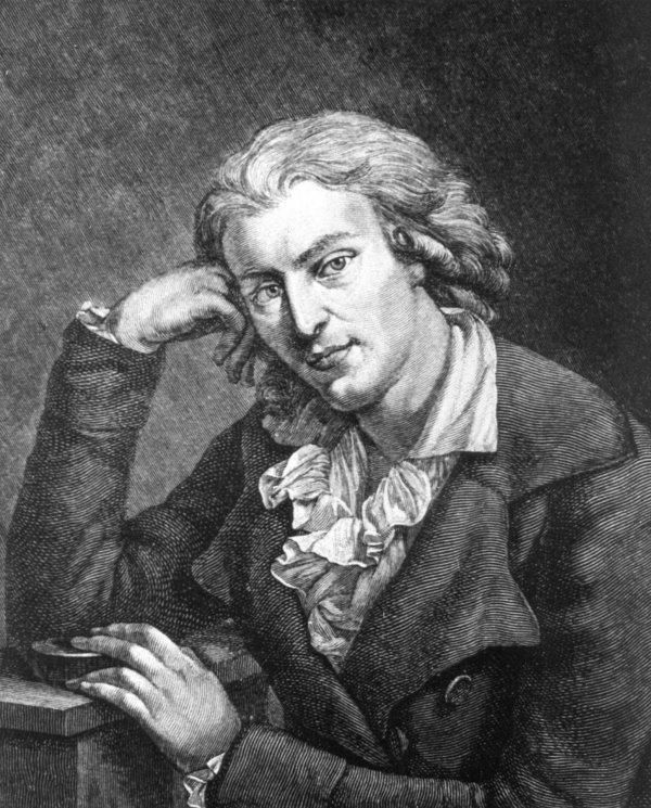 Friedrich Schiller (1759-1805). He was a German poet, philosopher, historian, and playwright.  During the last seventeen years of his life, Schiller struck up a productive, if complicated, friendship with already famous and influential Johann Wolfgang von Goethe. They frequently discussed issues concerning aesthetics.  More information about Schiller and his poems on Poemhunter:  http://www.poemhunter.com/friedrich-schiller/    Happy Birthday Friedrich Schiller!