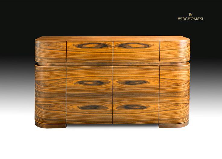 palisander komoda luksusowe meble miedziane okucia commode exclusive furniture