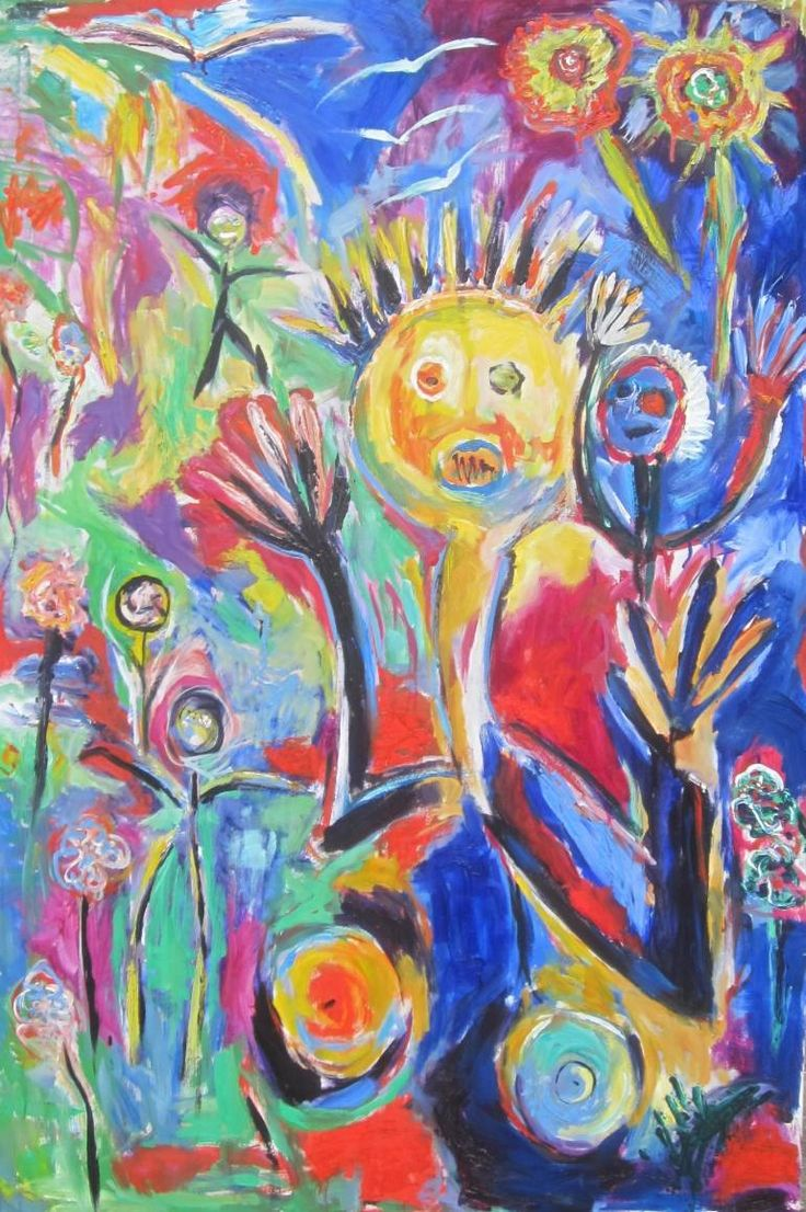 "Saatchi Art Artist Bjoern Beniston; Painting, ""HÅBLØS (WITHOUT HOPE)"" #art"