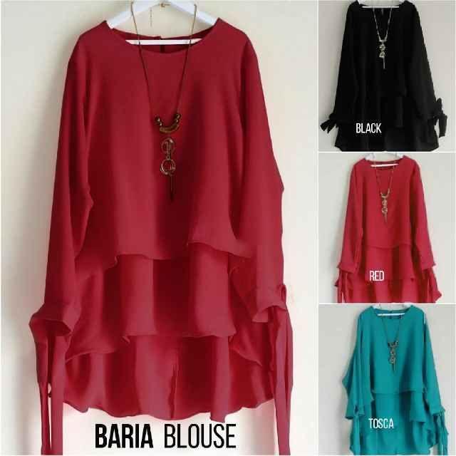 Beli Baju Atasan Wanita Baria Blouse Unik - http://www.butikjingga.com/baju-atasan-wanita-baria-blouse