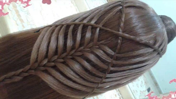 18 best peinados hermosos images on pinterest hairdos - Peinados faciles y bonitos ...