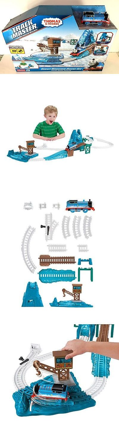 Other Thomas Toys 2629: Toysrus Ex. Fisher-Price Thomas And Friends Trackmaster Snowy Mountain Rescue Set -> BUY IT NOW ONLY: $79.99 on eBay!