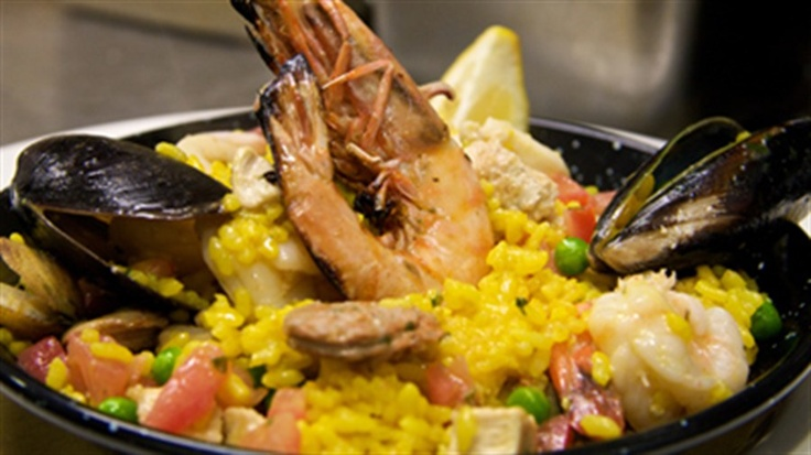 A fantastic paella recipe from Blue Fish voted Australia's Favourite Fish & Chips Restaurant in the 2009 I Love FOOD awards.