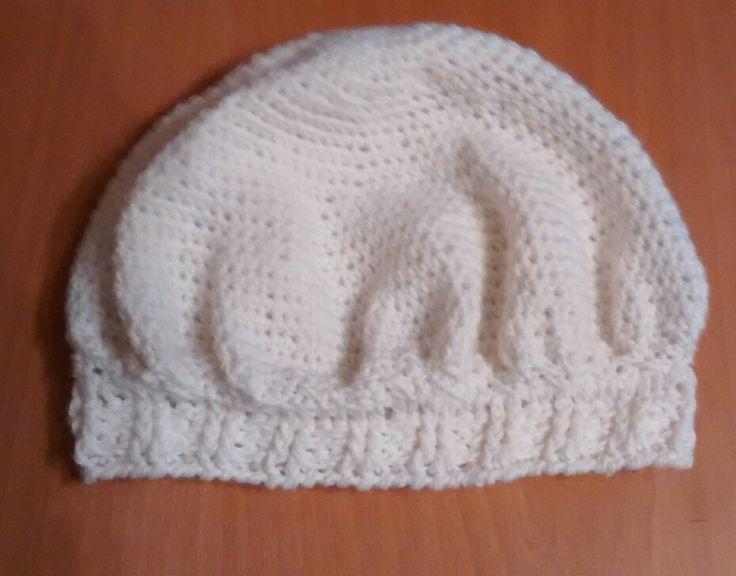 Boina gorro crochet