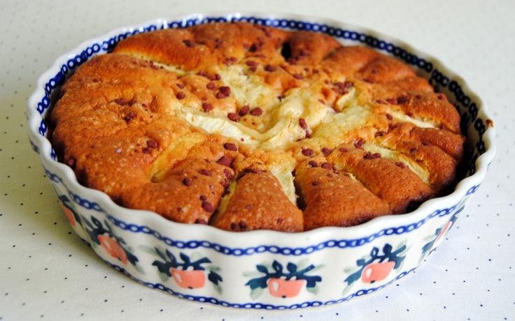 Gebruik een schaal eens op een andere manier en bak er een cake in. #Pools Aardewerk