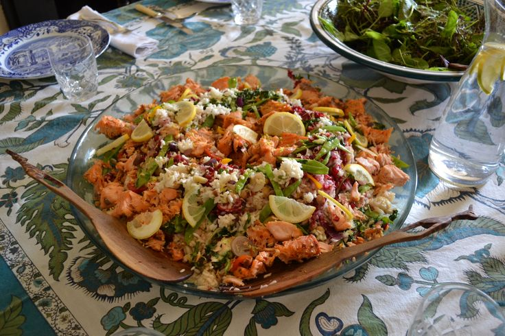 Fish salad Www.obanseilfarm.com Holiday houses