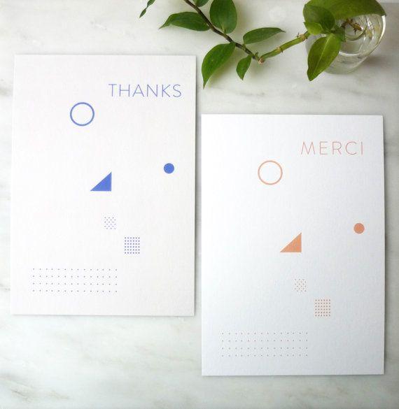 Set of 3 Cards  Greeting cards & Envelopes  by AlvisPaperMarket
