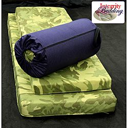 Extra Large Roll-n-Go Memory Foam Orthopedic Camping Sleeping Pad | Overstock.com Shopping - The Best Deals on Cots & Airbeds