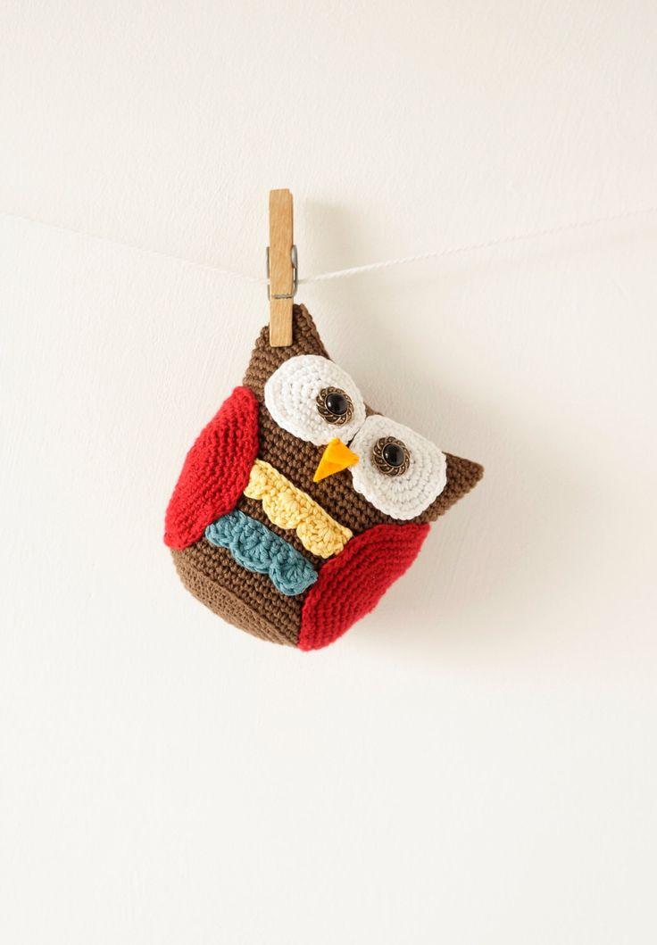 Amigurumi Owl, Crochet Patterns, Woodland Animal, Baby Nursery, Crochet Toy, Stocking Filler, Boys Room, Girls Gift, Easy to Make by LittleDoolally on Etsy (null)