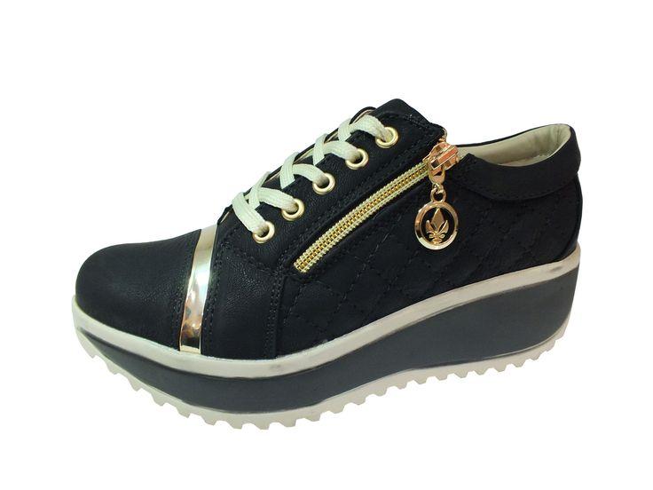 Yeşildaş Marka Dolgu Topuk Siyah Bayan Ayakkabı, http://www.carikcim.com/yesildas-24102-dolgu-topuk-siyah-bayan-ayakkabi