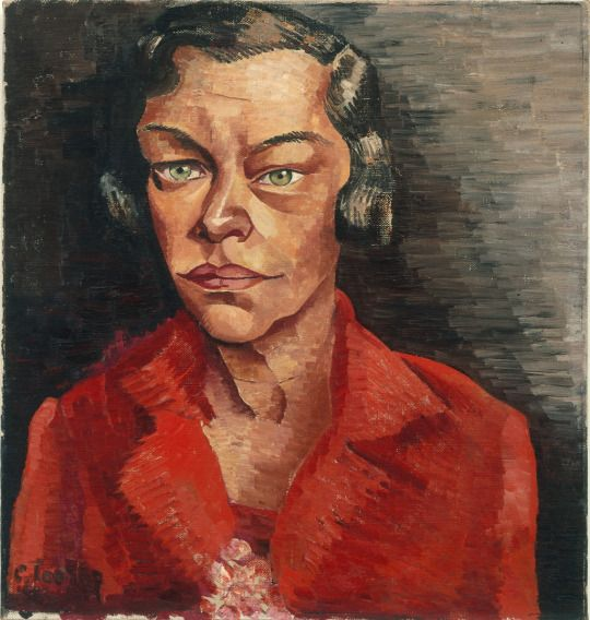 Charley Toorop - Portrait of an actress, 1927