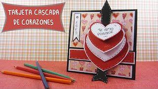 Manualidades de AMOR carta caja 3D sorpresa scrapbook regalos originales para enamorados - YouTube