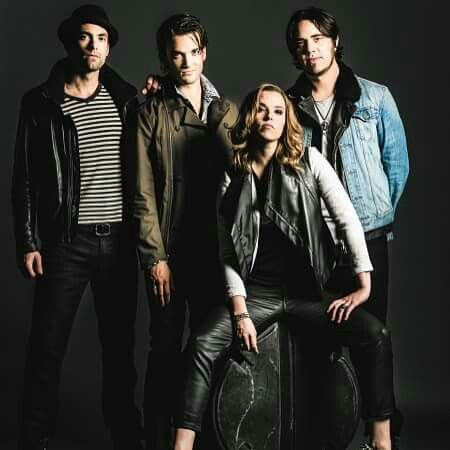 "The Band Halestorm.  ""Halestorm"""