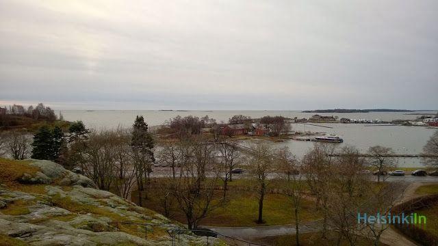 Ullanlinnanmäki in December