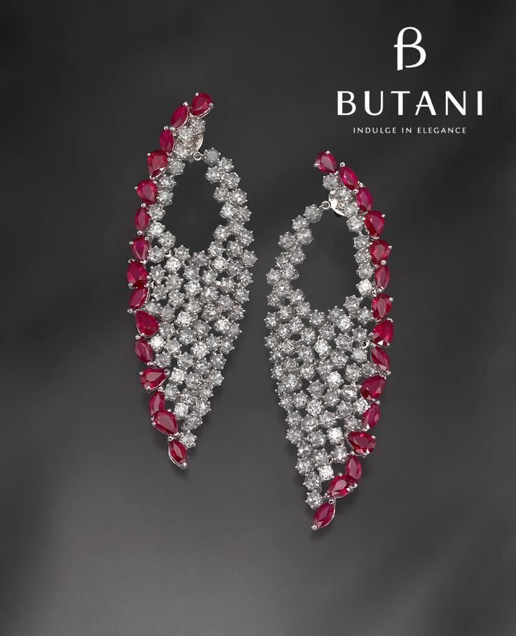 Flaunt your style and sophistication with just the right amount of dazzle in diamonds and rubies #Butani #ButaniJewellery #Diamonds #VIP