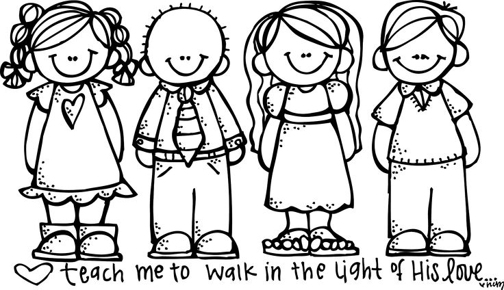 free lds clipart to color for primary children | Lds color pages - Coloring Pages & Pictures - IMAGIXS