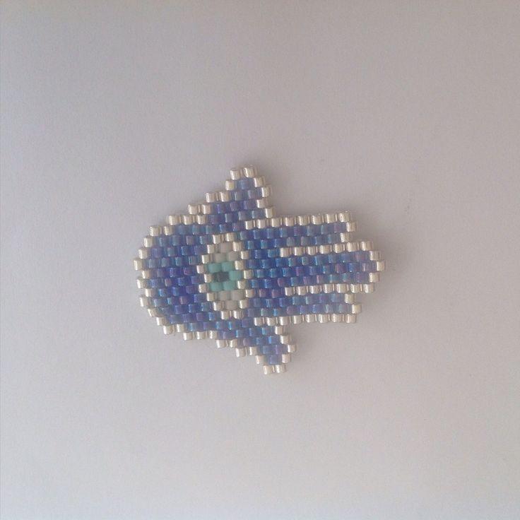 Futur collier#brick#stitch