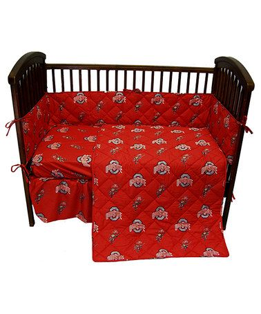 Ohio State Buckeyes Baby Crib Set By College Covers