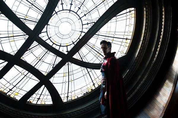 Dr Strange. Good Marvel movie. ***