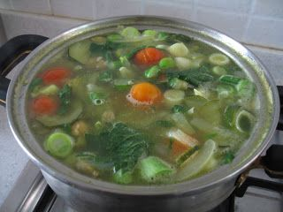 Systemic Candida: allergies/food sensitivities Ani-inflammatory Soup