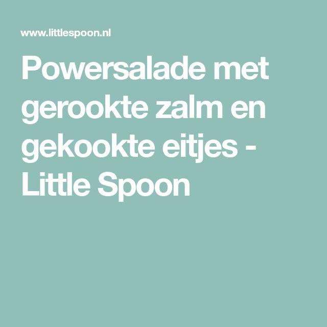 Powersalade met gerookte zalm en gekookte eitjes - Little Spoon