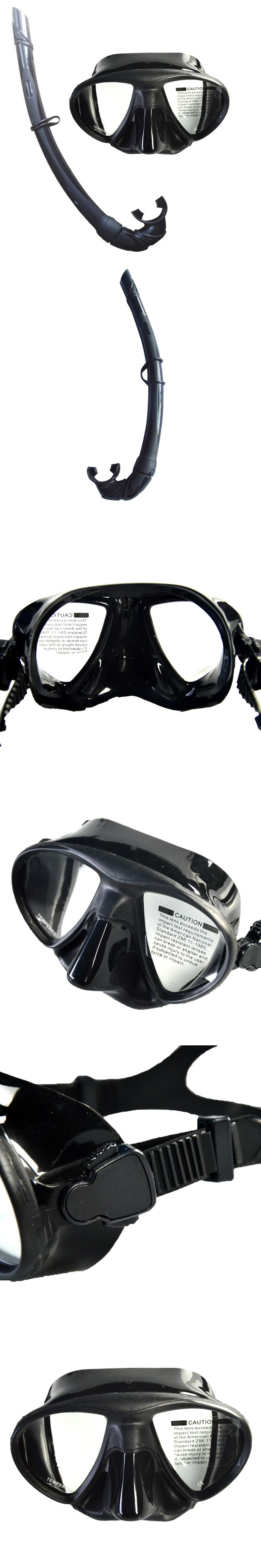 Hot sale Diving Mask  with Silicone Snorkel Set  For Spearfishing MS-85519
