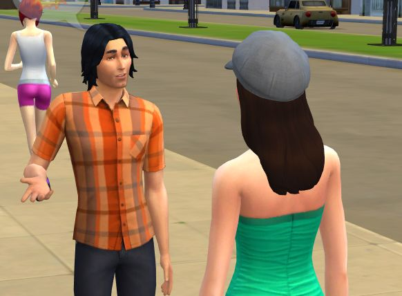 Intimately Curious Latrine: Sims 4: Steady on Girl