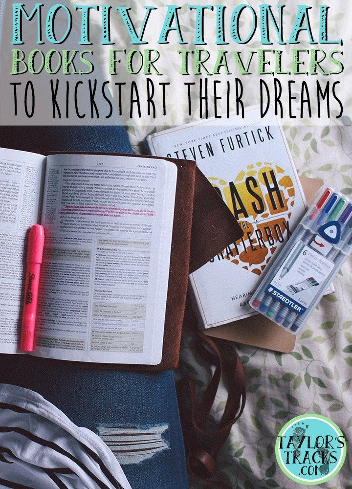These motivational books will have you saving money, inspired to travel and will have you steps closer to your travel dreams.