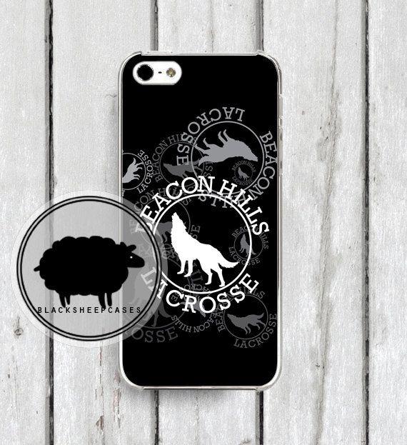 Teen Wolf Black Beacon Hills iPhone Case $15 || blacksheepcases.com