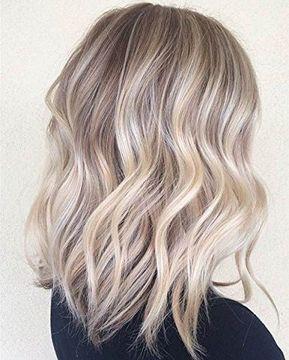 Details zu Full Shine Tape in Haarverlängerungen Echthaar Farbe # 18 Highligted # 22 Glue Hair