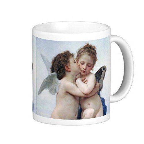 ブグロー『 ファースト・キス 』のマグカップ:フォトマグ(世界の名画シリーズ) 熱帯スタジオ…