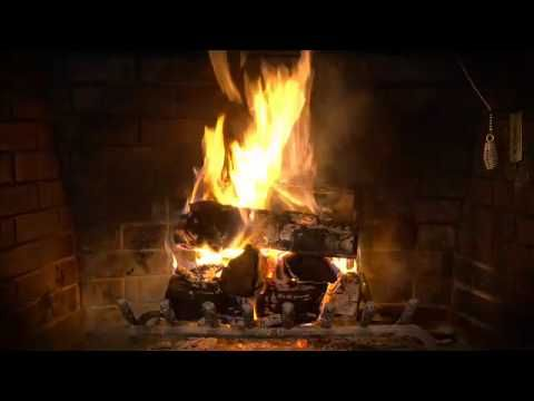 The Fireplace Video -  just make it full screen and watch on your computer or hook it up to your tv. This would be so nice around Christmas if you don't have a fireplace!